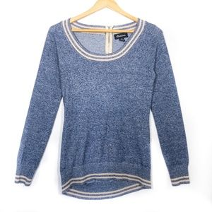 ✨3/$25✨Seductions Blue Cabin Pullover Sweater - S